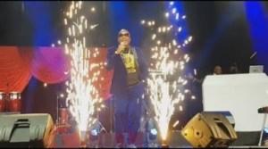 Video: Afro Juju Legend, Shina Peters Entertains Guests At Omotola Jalade
